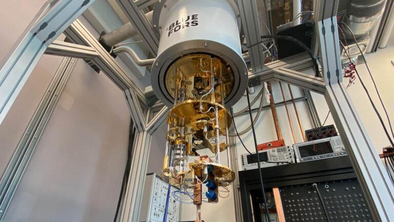 Quantum simulator in Joe Salfi's lab