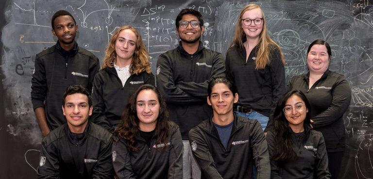 The 2019 cohort of Quantum Pathways students at SBQMI.