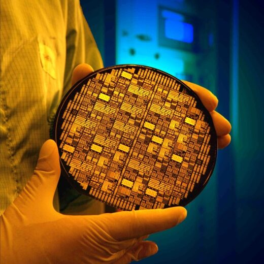 Silicon photonic chip
